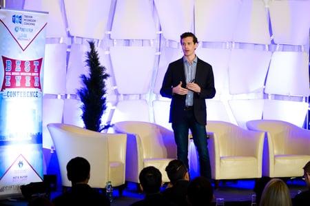 Fund That Flip founder and CEO Matt Rodak on stage
