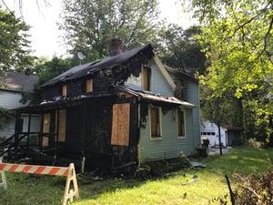 Fire Damaged House Flip